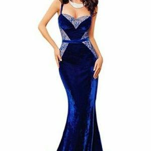 Blue evening/prom dress
